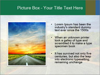 Sunlight And Road PowerPoint Templates - Slide 13
