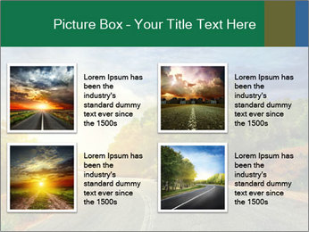 Sunlight And Road PowerPoint Templates - Slide 14