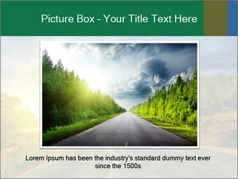 Sunlight And Road PowerPoint Templates - Slide 15