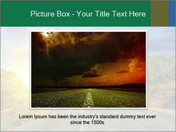 Sunlight And Road PowerPoint Templates - Slide 16