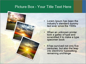Sunlight And Road PowerPoint Templates - Slide 17