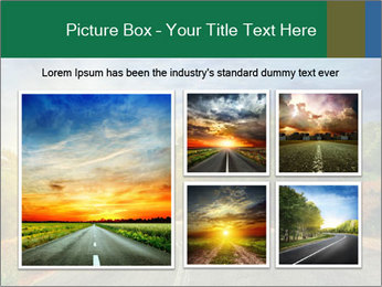 Sunlight And Road PowerPoint Templates - Slide 19