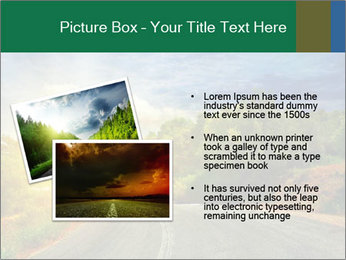 Sunlight And Road PowerPoint Templates - Slide 20