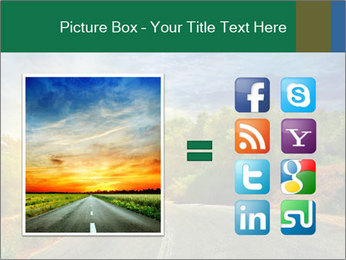 Sunlight And Road PowerPoint Templates - Slide 21
