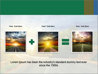 Sunlight And Road PowerPoint Templates - Slide 22