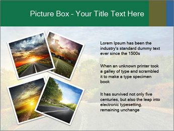 Sunlight And Road PowerPoint Templates - Slide 23
