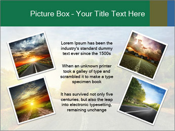 Sunlight And Road PowerPoint Templates - Slide 24
