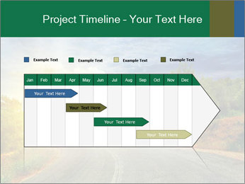 Sunlight And Road PowerPoint Templates - Slide 25