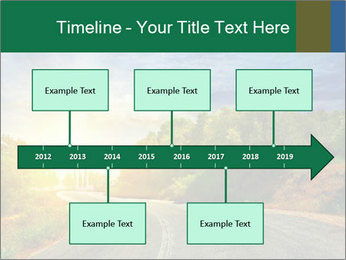 Sunlight And Road PowerPoint Templates - Slide 28