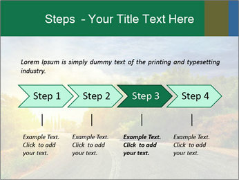 Sunlight And Road PowerPoint Templates - Slide 4