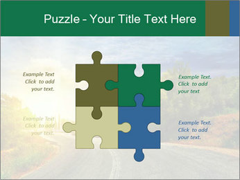 Sunlight And Road PowerPoint Templates - Slide 43