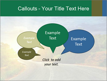 Sunlight And Road PowerPoint Templates - Slide 73