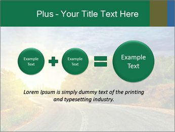 Sunlight And Road PowerPoint Templates - Slide 75