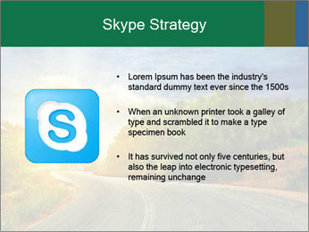 Sunlight And Road PowerPoint Templates - Slide 8
