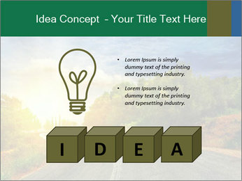 Sunlight And Road PowerPoint Templates - Slide 80