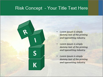 Sunlight And Road PowerPoint Templates - Slide 81