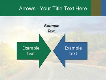 Sunlight And Road PowerPoint Templates - Slide 90
