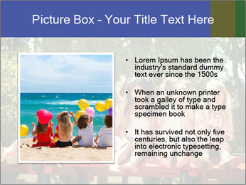 Group Of Girls PowerPoint Template - Slide 13