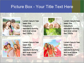 Group Of Girls PowerPoint Template - Slide 14