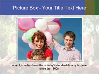 Group Of Girls PowerPoint Template - Slide 15