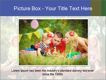 Group Of Girls PowerPoint Template - Slide 16