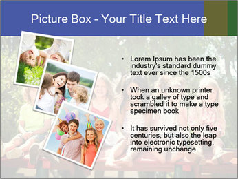 Group Of Girls PowerPoint Template - Slide 17