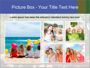Group Of Girls PowerPoint Template - Slide 19