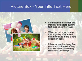 Group Of Girls PowerPoint Template - Slide 20