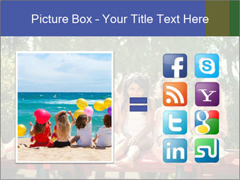 Group Of Girls PowerPoint Template - Slide 21