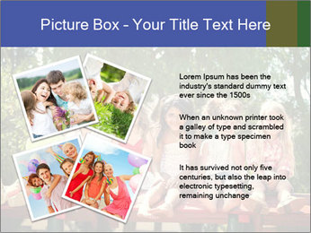 Group Of Girls PowerPoint Template - Slide 23