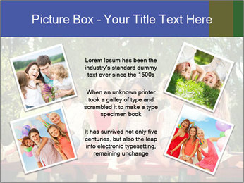 Group Of Girls PowerPoint Templates - Slide 24