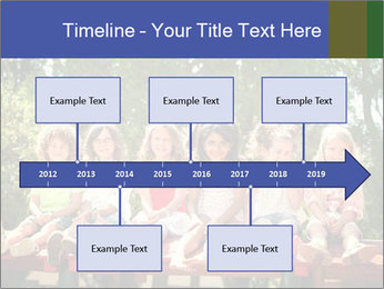 Group Of Girls PowerPoint Templates - Slide 28