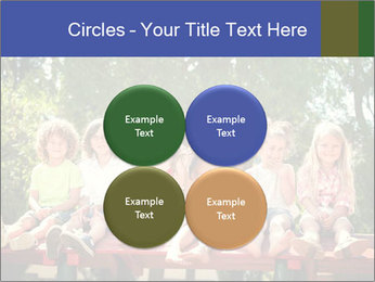 Group Of Girls PowerPoint Template - Slide 38