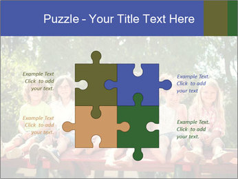 Group Of Girls PowerPoint Templates - Slide 43