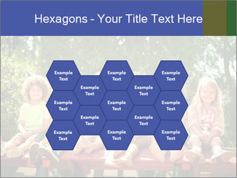 Group Of Girls PowerPoint Templates - Slide 44