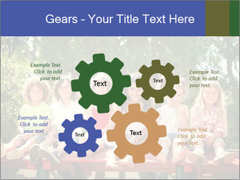 Group Of Girls PowerPoint Templates - Slide 47