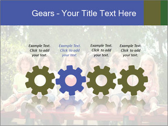 Group Of Girls PowerPoint Templates - Slide 48