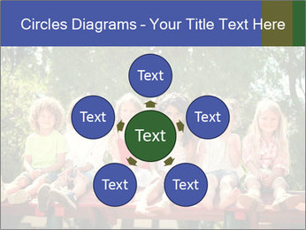 Group Of Girls PowerPoint Templates - Slide 78