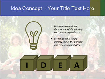 Group Of Girls PowerPoint Template - Slide 80