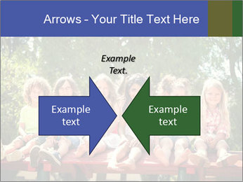 Group Of Girls PowerPoint Templates - Slide 90