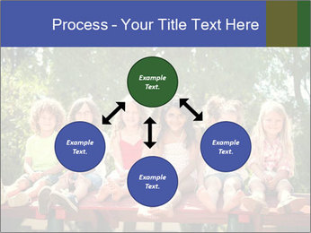 Group Of Girls PowerPoint Templates - Slide 91
