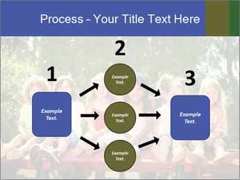 Group Of Girls PowerPoint Templates - Slide 92