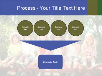 Group Of Girls PowerPoint Template - Slide 93