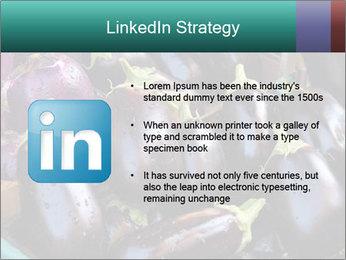 Aubergine PowerPoint Template - Slide 12