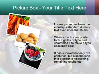 Aubergine PowerPoint Template - Slide 17