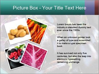 Aubergine PowerPoint Template - Slide 23