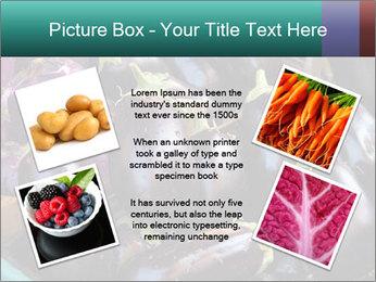 Aubergine PowerPoint Template - Slide 24