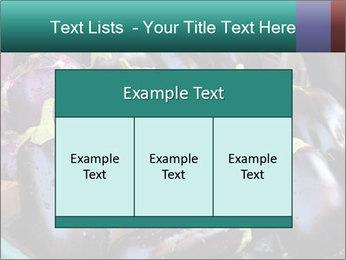 Aubergine PowerPoint Template - Slide 59