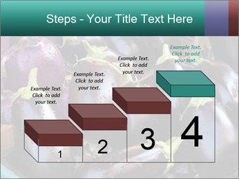 Aubergine PowerPoint Template - Slide 64