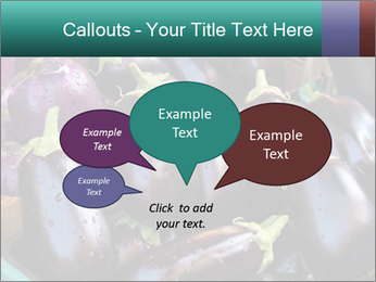 Aubergine PowerPoint Template - Slide 73